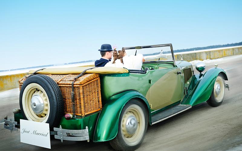 Limousine oder Kutsche