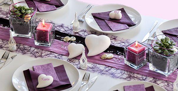 Sac Modelleri Tischdekoration Hochzeit Lila