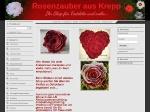 Rosenzauber aus Krepp